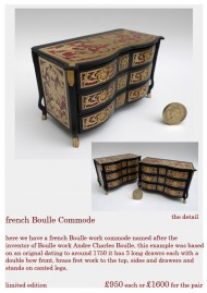 Boulle Commodes