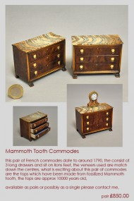 Mammoth Tooth Commode
