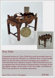 Tray table