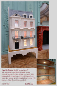 1/144 scale french town house