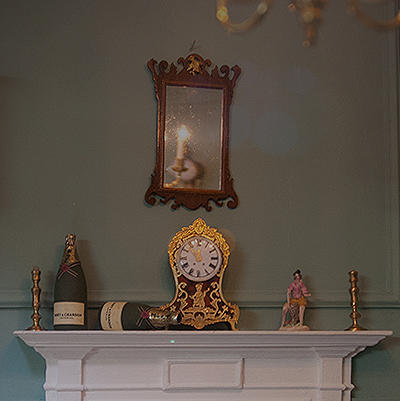 dollshouse boulle clock